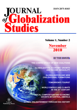 Journal of Globalization Studies. Volume 1, Number 2 / November 2010