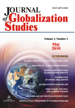 Journal of Globalization Studies. Volume 1, Number 1 / May 2010