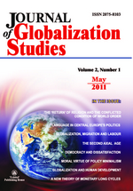 Volume 2, Number 1 / May 2011